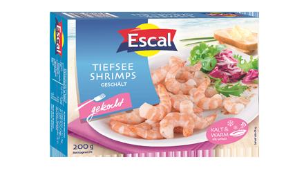 Tiefsee Shrimps