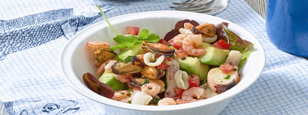 Leichter Frutti di Mare Salat