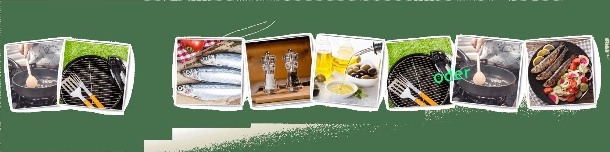 unten bilderrahemen sardine neu