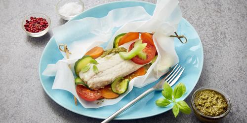 Fischfilets schnell und einfach zubereitet