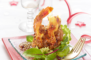 Bio Gourmet King Prawns für festliche Anlässe