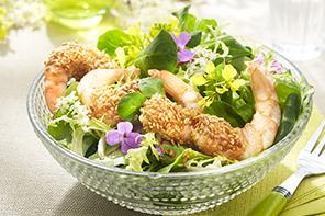Mit Seafood fit in den Frühling