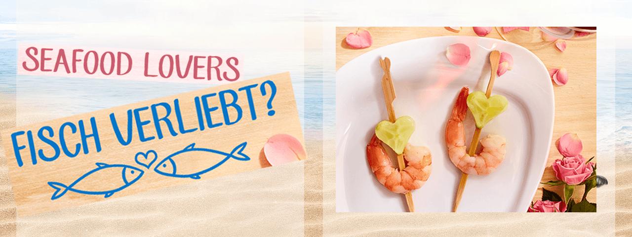 Seafoodliebe ♥ am Valentinstag