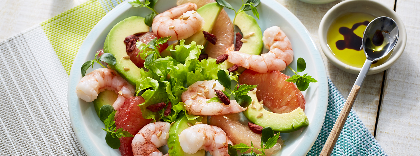 Vitamin-Booster Garnelen-Salat