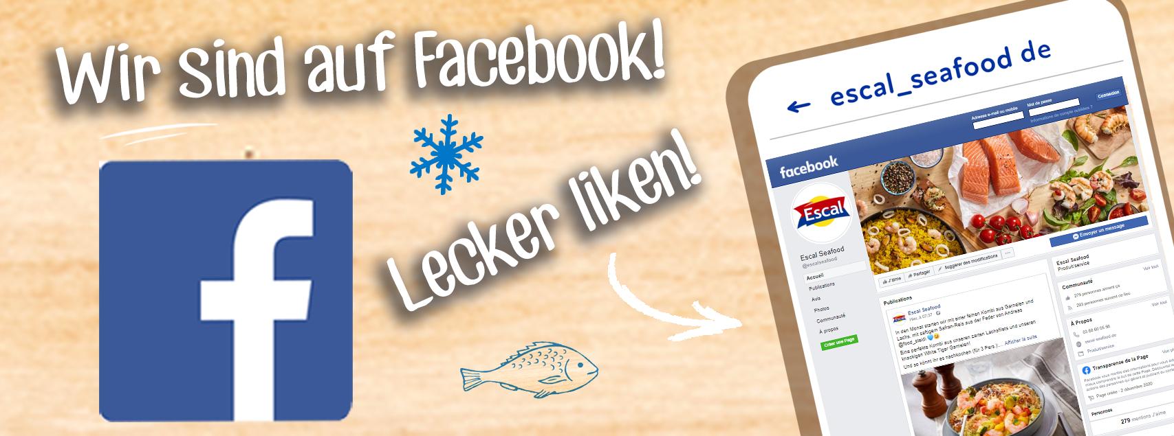 #Wir sind auf Facebook!